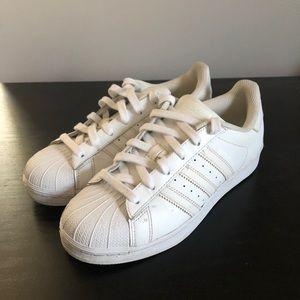 Adidas Superstar Sneakers White Size 6